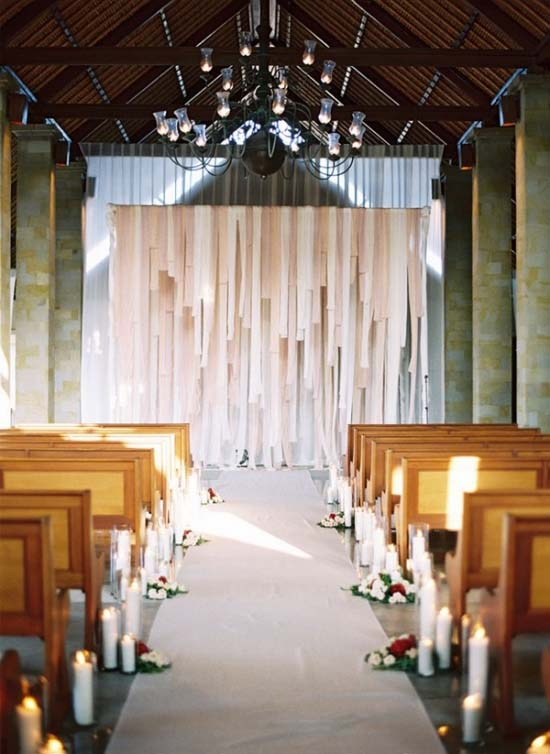 Using Fabric Strips Or Your Favourite Material Combination Can Create An Amazing Backdrop That Be As Elegant Entertaining You Want It To
